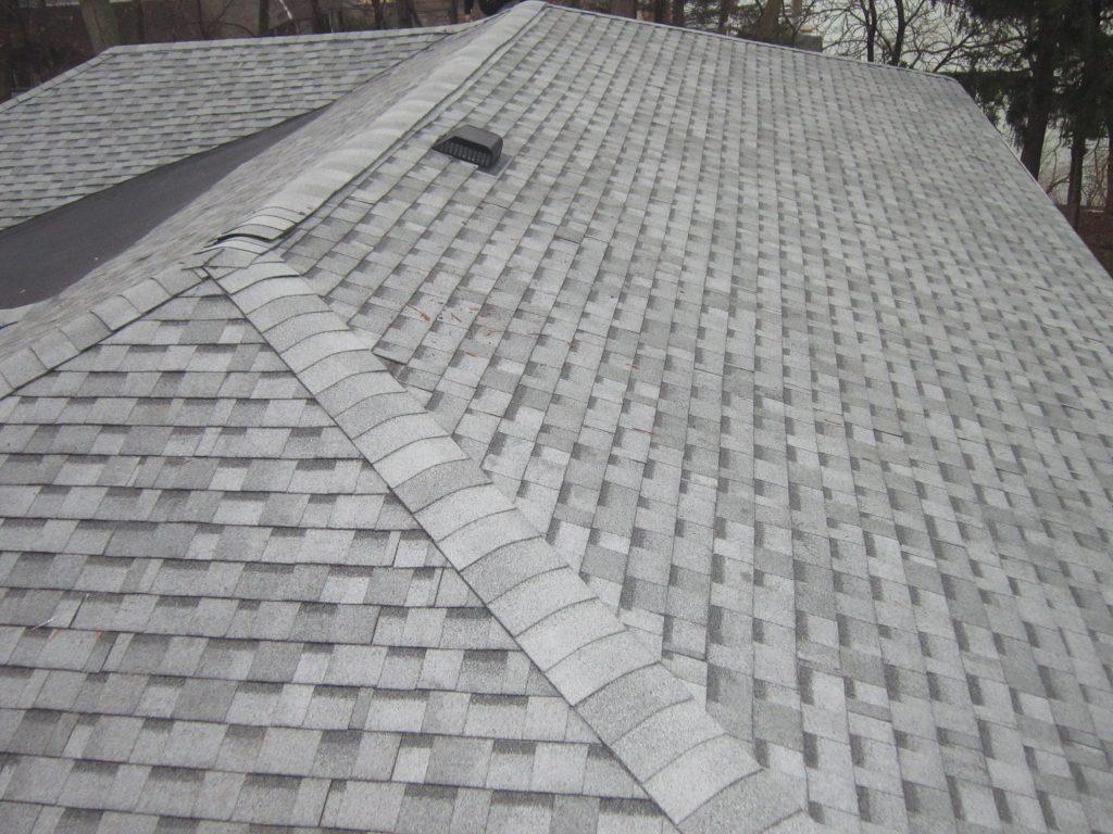 New shingle installation